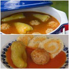 Domáca plnená paprika v paradajkovej omáčke