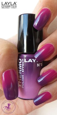 8 Nails for this SUMMER! - Thermic Polishes: light on the beach, dark in the water!