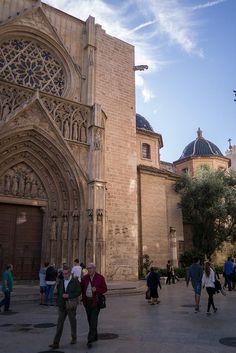 Valencia's old town