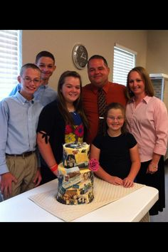 aww i really miss this family! :'( Bret, Brice, Courtney, Carrie, bro. Brian, and Mrs. Dixie