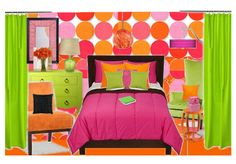 I Let My Teenager Decorate Her Room by entertaininginspirations | Olioboard #pink