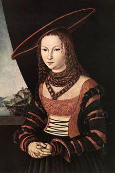 Lucas Cranach the Elder Portrait of a Woman: 1526