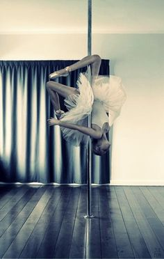 Love this! I'm buying a tutu for my next pole photoshoot!
