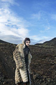 Model Kristín Lilja Dress EKE Make up Iðunn Jónasardóttir Assistant Bragi Kort ©Anna Ósk Erlingsdóttir All rights