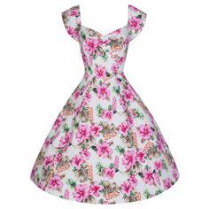 Miss Mole Vintage Shop - Rockabilly, Retro, & Vintage Mode Vintage Inspired Fashion, Vintage Inspired Dresses, Vintage Dresses, Vintage Fashion, 1950s Dresses, Rockabilly Mode, Rockabilly Fashion, Swing Dress, I Dress