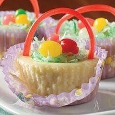 PHILADELPHIA(R) 3-STEP(R) Mini Cheesecake Baskets - Allrecipes.com