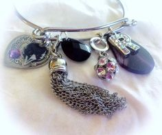Baltimore Ravens Jewelry handmade Bracelets by SWANKEE on Etsy