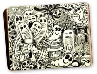 moleskine project-raul gomez #illustration #inspiration