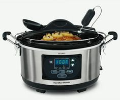 Set 'n Forget Programmable Slow Cooker