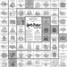 The Harry Potter Drinking Game - There is so much right about this.