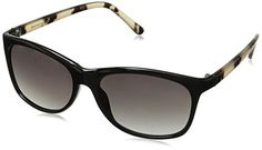 5a00ad80190 Foster Grant Womens Diem Wayfarer Sunglasses Black 55 mm     To view  further for