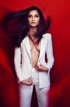 Sonam Kapoor's Hot Vogue Magazine Photo-shoot     http://blogonbabes.com/sonam-kapoors-hot-vogue-magazine-photo-shoot/    #SonamKapoor #Hot #Sexy #Bollywood #Fashion