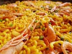 fideua Spanish Dishes, Spanish Food, Le Chef, Empanadas, Easy Cooking, Pasta Dishes, Macaroni And Cheese, Seafood, Bacon