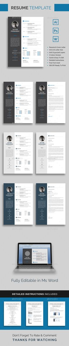 resume template victor