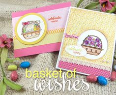 Basket of Wishes Stamp set by Newton's Nook Designs