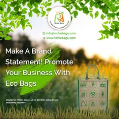 Jute promotional Bags, Shopping Bags Manufacturer, Wholesale Supplier & Exporter from India. We print Jute and Cotton promotional bags with your marketing message & logo. Message Logo, Jute Shopping Bags, Promotional Bags, Promote Your Business, Corporate Gifts, Investing, Freedom, Ads, Concept