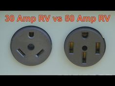 What is the difference between a 30 amp and a 50 amp RV electrical system? In this RV how-to video Mark Polk, with RV Education explains why you can use. Rv Camping Tips, Rv Tips, Camping Trailers, Camping Ideas, Rv Videos, External Lighting, Rv Makeover, Diy Camper, Remodeled Campers