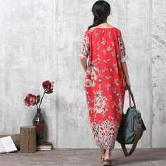 Loose Fitting Long Maxi Dress Gown Women Dress Maternity