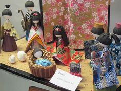 Japanese Crèche - photo by Ruth Lor Malloy, via Toronto Multicultural Calendar: 'Creches From Across the World' (Dec. 12, 2012)
