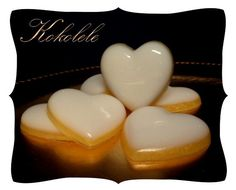 Lucky 7 Hearts Soaps by Kokolele on Etsy