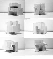 Resultado de imagen para adicion y sustraccion de 3 cubos arquitectura