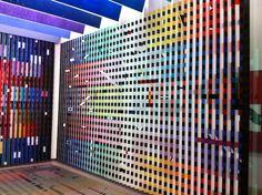 @ Centre Pompidou @ Paris — a room of colors Art Installations, Installation Art, Pompidou Paris, Ibm, Centre, Company Logo, Concept, Colors, Design