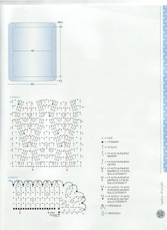 Raccolta di schemi per realizzare delle copertine all'uncinetto con schemi dettagliati !!! ...