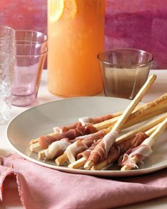 Prosciutto-Wrapped Breadsticks Recipe- Easy Appetizer