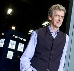 Peter Capaldi begins filming on Doctor Who