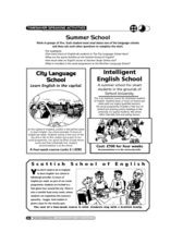 Speaking activities about English Language schools, giving practice of question forms. Language School, Summer School, Teacher Resources, About Uk, English, English Language