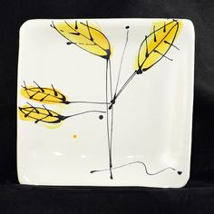 Hand made plate by ABowlofGratitude on Etsy, $25.00