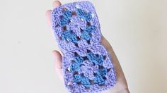 how to crochet granny squares for beginners - YouTube