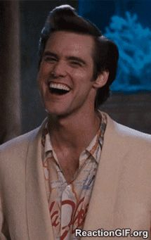 The perfect AceVentura Yup Laugh Animated GIF for your conversation. Discover and Share the best GIFs on Tenor. Jim Carrey, The Comedian, Animiertes Gif, Animated Gif, Funny Faces Images, Gif Pictures, Just Friends, Funny People, Comedians