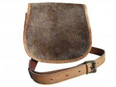 Kožená kabelka se srstí Saddle Bags, Cross Body, Fashion, Moda, Molle Pouches, La Mode, Fasion, Fashion Models, Trendy Fashion