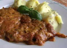 Ďábelské řízky Slovak Recipes, Czech Recipes, Ethnic Recipes, Healthy Diet Recipes, Meat Recipes, Cooking Recipes, Good Food, Yummy Food, Tasty