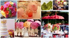 Bright and Cheery Inspiration Board