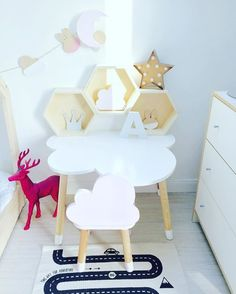 cloud desk for kids