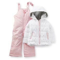 2-Piece Sparkle Snowsuit