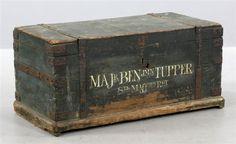 Revolutionary War Officers Box