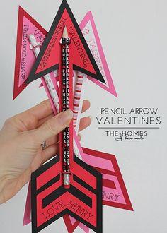 Pencil Valentines-001 | Flickr - Photo Sharing!