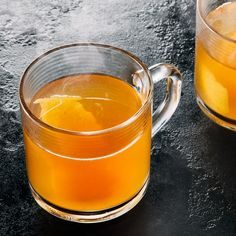 Brewed tea is an easy way to infuse complex flavors into warming winter cocktails. This libation uses two tea bags for a double-strength brew.