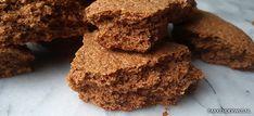 Speculaasbrokken | Bakkenderwijs #speculaas #bakken #recept Desserts, Food, Deserts, Dessert, Meals, Yemek, Postres, Eten