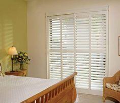 Sliding Glass Door Window Treatments   Blinds And Window Treatments
