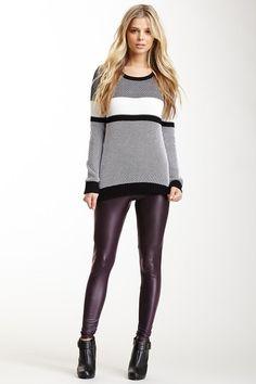 Faux Leather Legging by Milk26 on @HauteLook