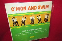 "Vintage Vinyl LP ""C'Mon and Swim"" by The Lifeguards by trackerjax on Etsy Used Vinyl, Coney Island, Simon Says, Lifeguard, Lps, All Things, Swimming, Writing, Sayings"