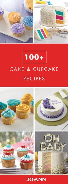 If you're anything like us then you agree that cake is always a good idea. With this collection of 100+ Cake and Cupcake Recipes, no matter the occasion—baby shower, birthday, or Halloween fest—you'll find the perfect festive sweet treat.