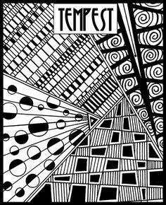 Tempest - Helen Breil Texture Stamps found @ AntelopeBeads.com