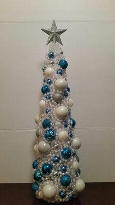 Árbol congelado Inspirado Arbol de Navidad pieza centra