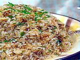 Crab Rice - saw this on Travel Network show 'Bizzare Foods' - not bizarre but looked really good! Anxious to try it out!