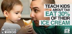 Teach kids about tax